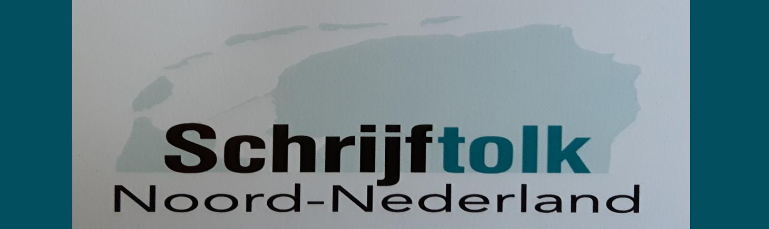 Schrijftolk Noord-Nederland